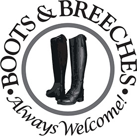 Boots and Breeches Always Welcome